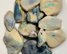 High Potential Colourful Big Size Rough Seam Opals to Work On