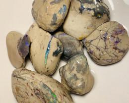Big Bright Nobby Opals Showing Bars to Gamble