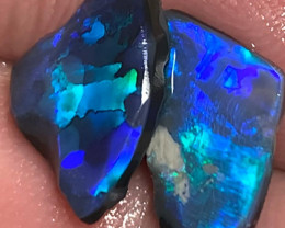 Pair of Black Opal Rubs - Please Watch The Video