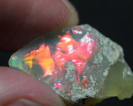 Natural 6.7ct Ethiopian Welo Rough Opal #REO443