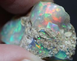 Natural 13.6ct Ethiopian Welo Rough Opal #REO459