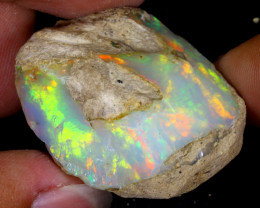 85cts Natural Ethiopian Welo Rough Opal / WR7981
