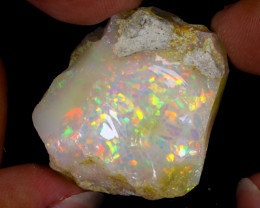 60cts Natural Ethiopian Welo Rough Opal / WR7982
