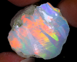 29cts Natural Ethiopian Welo Rough Opal / WR7985