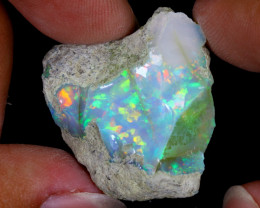 30cts Natural Ethiopian Welo Rough Opal / WR7986