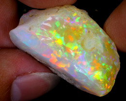 39cts Natural Ethiopian Welo Rough Opal / WR7999