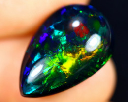7.27cts Natural Ethiopian Smoked Welo Opal / BF7470