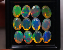 6.01Ct Natural Ethiopian Welo Faceted Opal Lot W135