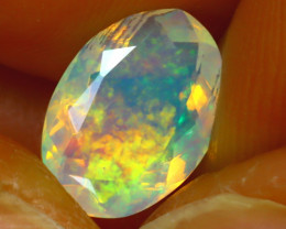 Welo Opal 1.42Ct Natural Ethiopian Play of Color Opal H2202/A44