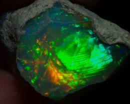 13.3ct Natural Ethiopian Welo Rough Opal