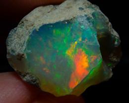 16.9ct Natural Ethiopian Welo Rough Opal