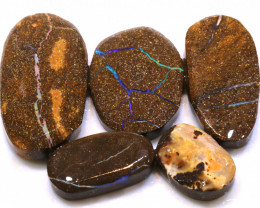 122cts Boulder Opal Pre Shaped Rub Parcel ADO-8981 - adopals