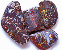 90.51 Carats Yowah Opal Pre Shaped Rough Parcel  ANO-2078