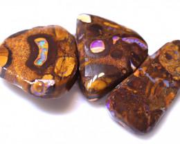 62.65 Carats Yowah Opal Pre Shaped Rough Parcel  ANO-2086