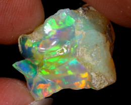 13cts Natural Ethiopian Welo Rough Opal / WR8031
