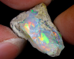 7cts Natural Ethiopian Welo Rough Opal / WR8038