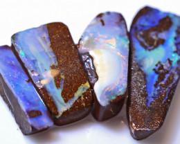 49.84 Carats Boulder Opal Pre Shaped Rough Parcel  ANO-2091