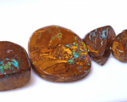 72.42 Carats Yowah Opal Pre Shaped Rough Parcel  ANO-2095