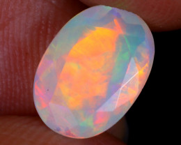 1.63cts Natural Ethiopian Faceted Welo Opal / NY2597