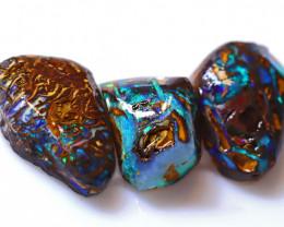 15.22 Carats Yowah Opal Pre Shaped Rough Parcel  ANO-2100