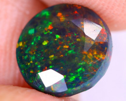 1.53cts Natural Ethiopian Welo Faceted Smoked Opal / NY2610