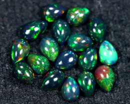 8.08cts Natural Ethiopian Welo Smoked Opal Lots / HM2645