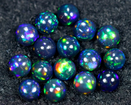 5.93cts Natural Ethiopian Welo Smoked Opal Lots / HM2654