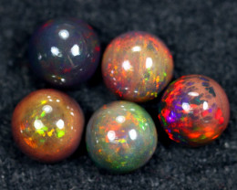 14.27cts Natural Ethiopian Welo Smoked Opal Lots / HM2657