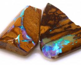 7.75cts Boulder Pipe Opal Pre Shaped Rubs ADO-9038 - adopals