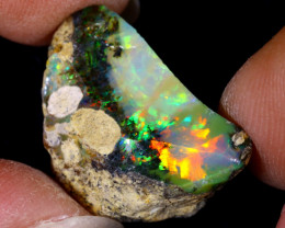 11cts Natural Ethiopian Welo Rough Opal / PA104