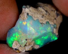 14cts Natural Ethiopian Welo Rough Opal / PA129