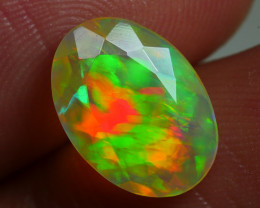 1.670 CRT BEAUTIFUL FACETED MULTI PLAY COLOR  WELO*