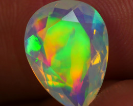 1.850 CRT BEAUTIFUL GREEN MIX FACETED MULTI PLAY COLOR  WELO*