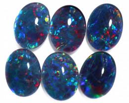 6 Cts Australian Triplet Opals Parcels 8x6mm FO 1439
