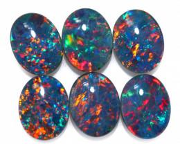7.5 Cts Australian Triplet Opals Parcels 9x7mm FO 1446