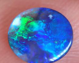 Lightning Ridge Solid Black Opal Stone 0.73ct