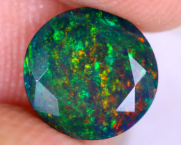 1.45cts Natural Ethiopian Welo Faceted Smoked Opal / NY2619