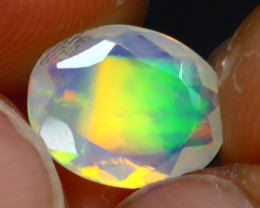 Welo Opal 1.70Ct Natural Ethiopian Play of Color Opal J2503/A44