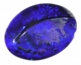 53 CTS BOULDER OPAL POLISHED STONE FROM WINTON  [CS677]