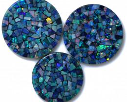 79 Cts  Australian  Opal Doublet Mosaic FO 1487