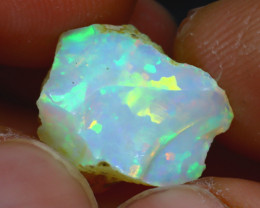 7.80Ct Multi Color Play Ethiopian Welo Opal Rough H2609/R2