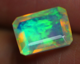 2.390 CRT BEAUTIFUL FACETED MULTI PLAY COLOR  WELO*