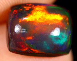 2.94cts Natural Ethiopian Welo Smoked Opal / HM2662