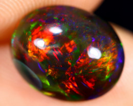 3.00cts Natural Ethiopian Welo Smoked Opal / HM2664