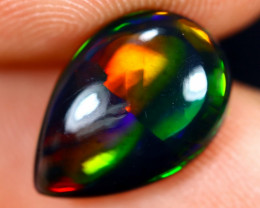 2.25cts Natural Ethiopian Welo Smoked Opal / HM2665