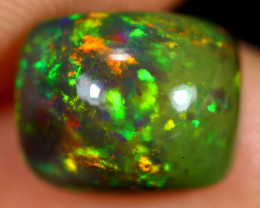 2.36cts Natural Ethiopian Welo Smoked Opal / HM2676