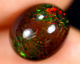 3.95cts Natural Ethiopian Welo Smoked Opal / HM2685
