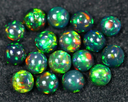 6.28cts Natural Ethiopian Welo Smoked Opal Lots / HM2690
