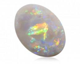 2.72 ct White Opal from Lightning Ridge - Australia