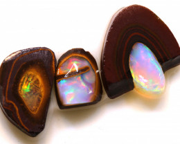 7.40cts Yowah Opal Center Nut Rubs AD-9132 adopals